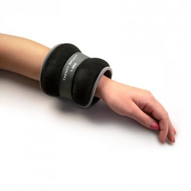 Vægtmanchet til hånd/ankel (Grå/Sort)