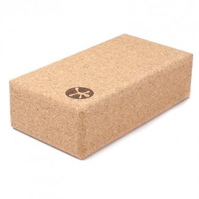 Yoga blok i kork (227 x 120 x 75 mm)