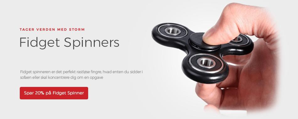 Forside - Fidget Spinners