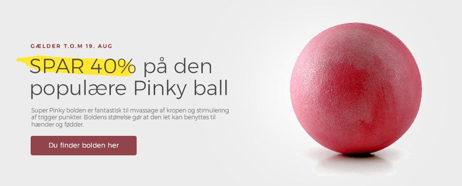 Forside - 40% Pinky