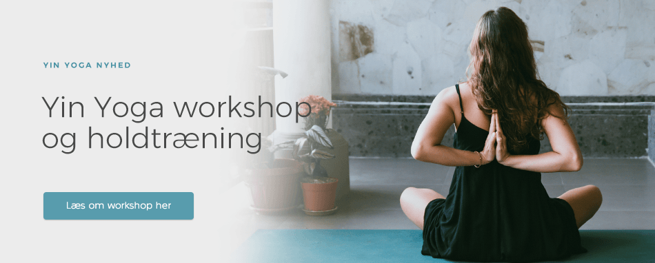 Forside - Yin Yoga Workshop