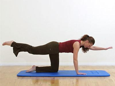 4 effektive øvelser for mave og ryg - Få 4 gode rygøvelser